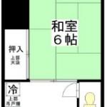 目黒区柿の木坂1丁目 アパート